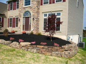 dry stone wall in coventry pa