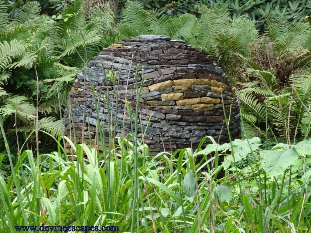 natural stone garden art
