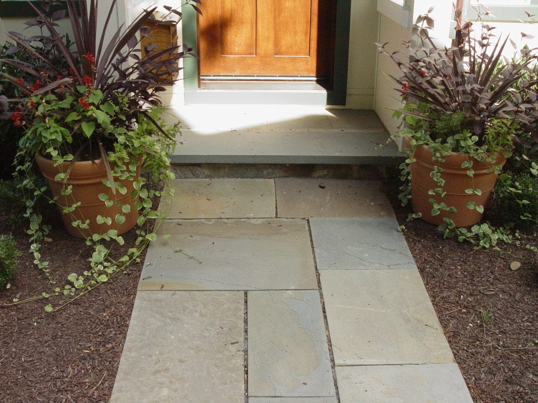 Natural Stone Walkways : Flagstone walkways natural stone hardscape contractor