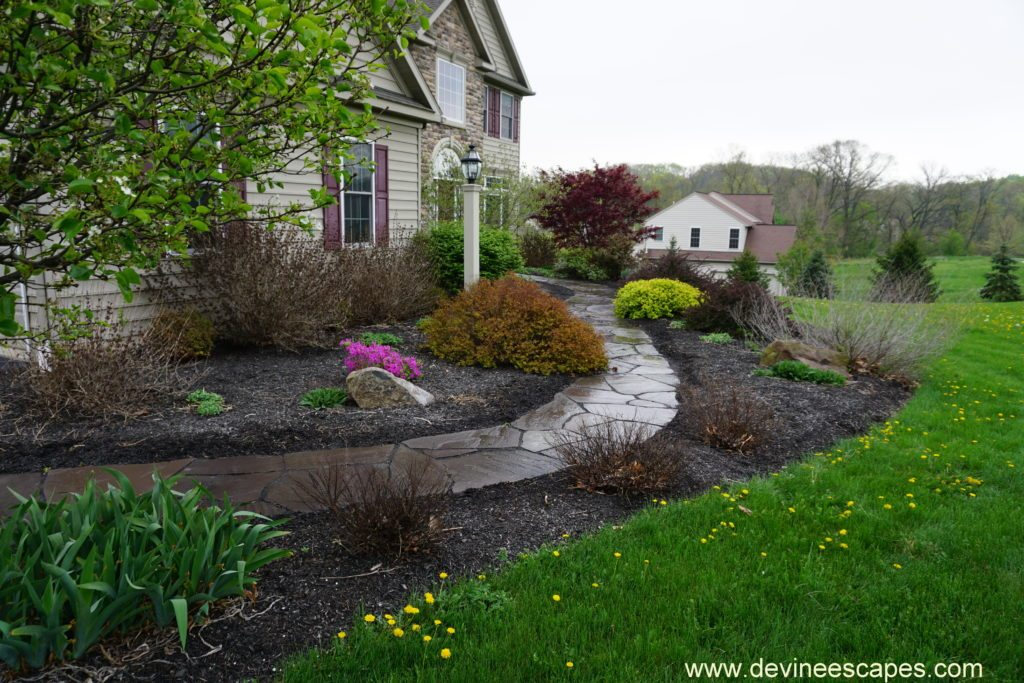 flagstone walkways and natural stone contractor