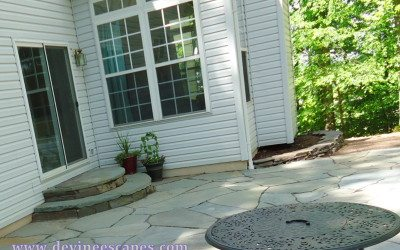 Flagstone: what to use, sand, cement, or gravel?