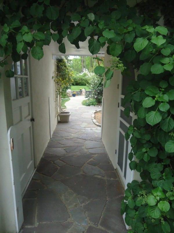beautiful flagstone walkways