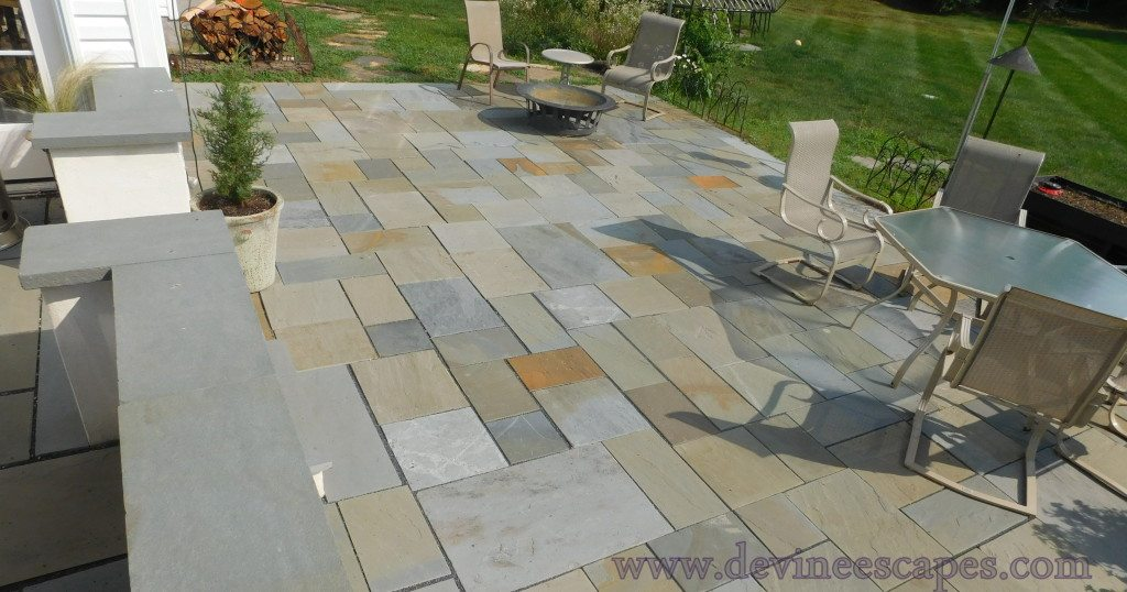flagstone patio in Limerick PA