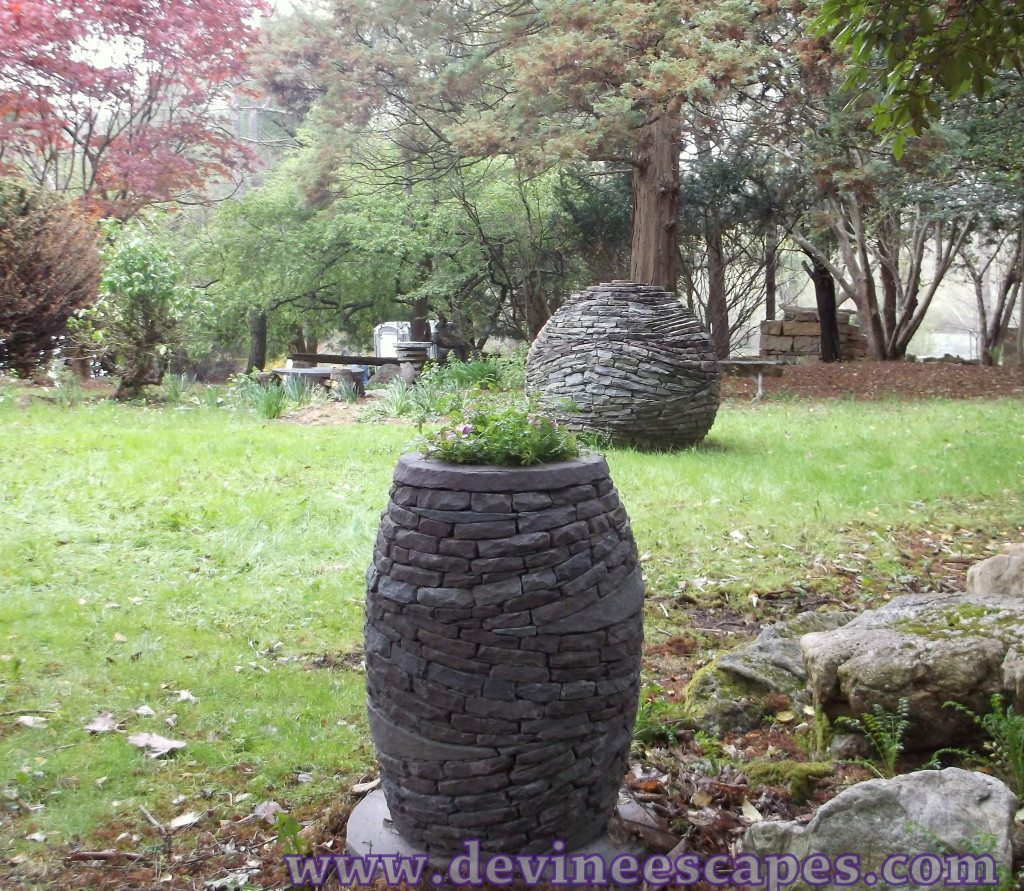 dry stone sculpture