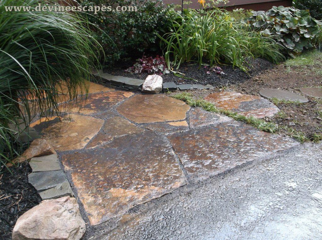 flagstone walkways in Palmerton PA