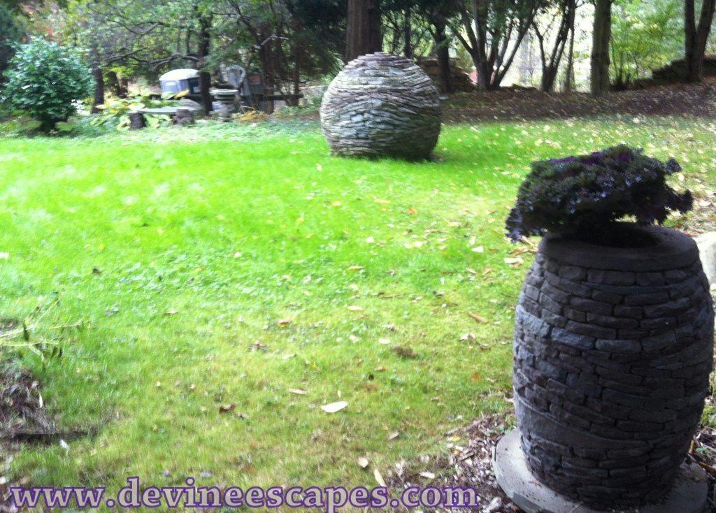 dry stone art