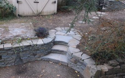 Chester Springs, Dry Stone Hardscape