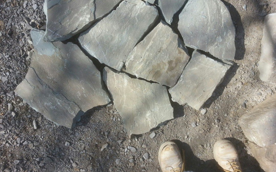 how to make natural flagstone look…natural