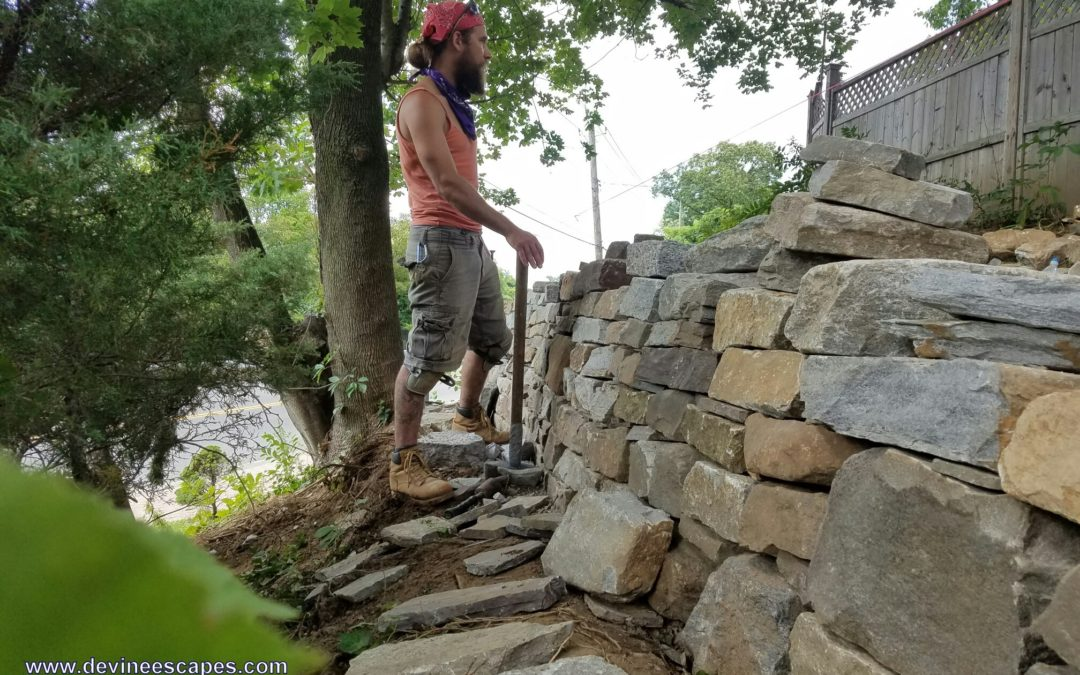 Dry Stone Walls in Yonkers
