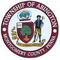 abington flagstone patios & township city seal