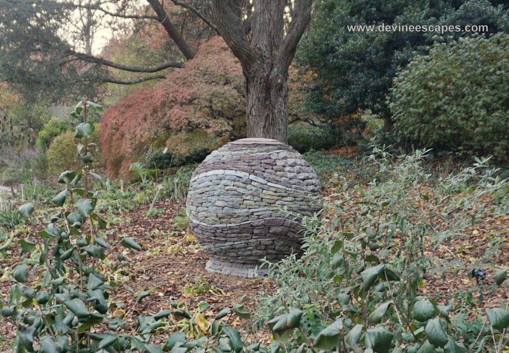 Bon Dry Stone Garden Sculpture
