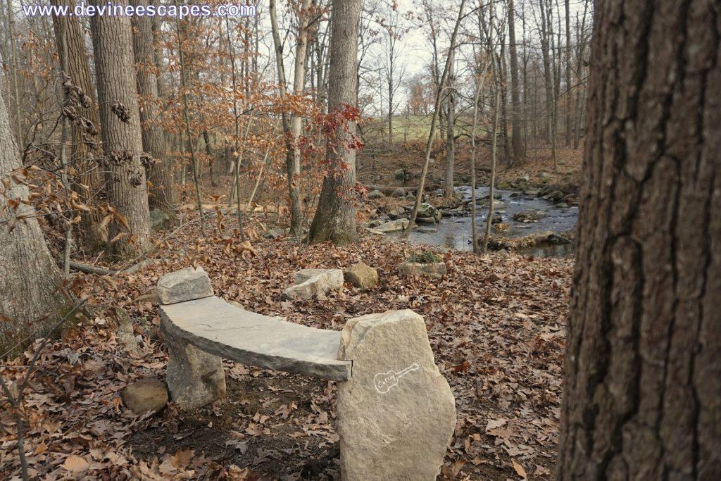 stone benches memorials