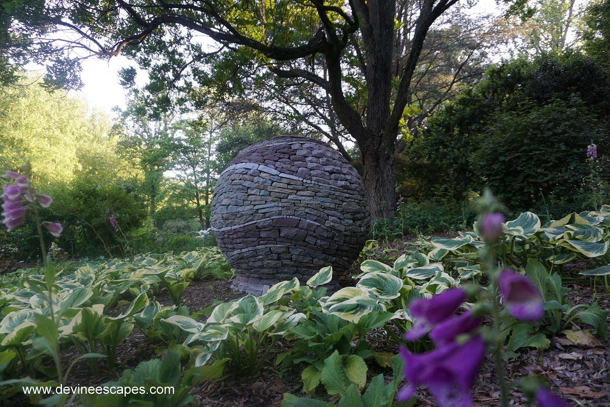 Dry Stone Spheres Unique Hand Made Garden Sculptures