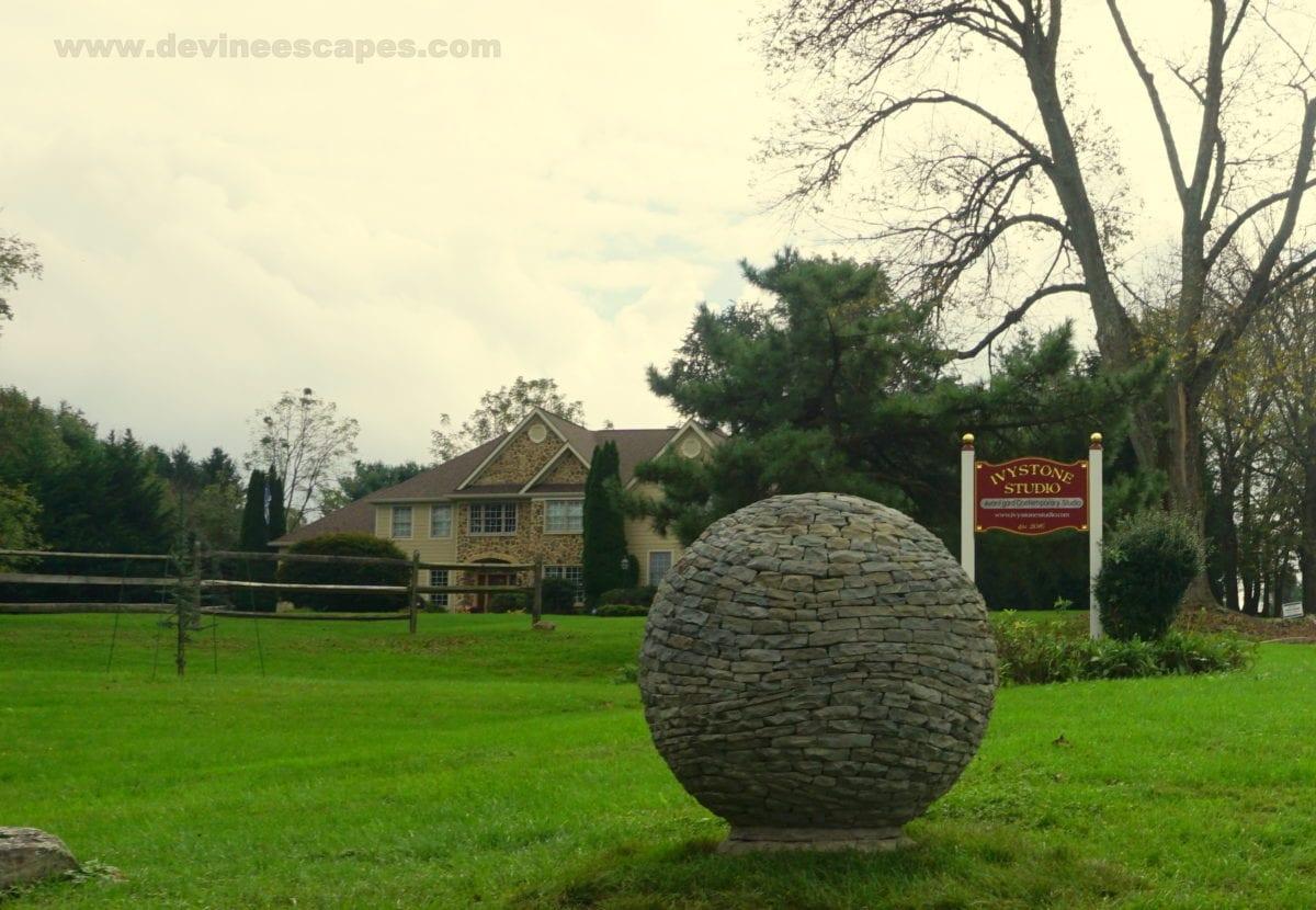 Dry Stone Spheres Unique Hand Made Garden Sculptures